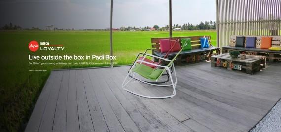 AirAsia BIG Relax & Unwind with Padi Box