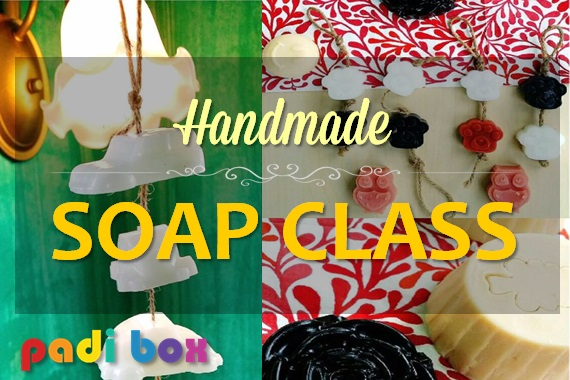 HANDMADE SOAP CLASS (whatsapp us for more details)